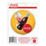Coca-Cola Sprite Boy Yellow Button Disc Mini Vinyl Stickers 20 ct