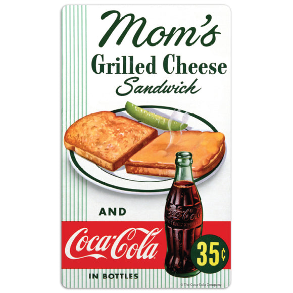 Coca-Cola Moms Grilled Cheese Mini Vinyl Stickers 20 ct