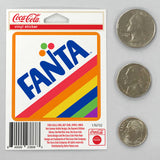 Fanta Rainbow Logo Mini Vinyl Stickers 20 ct