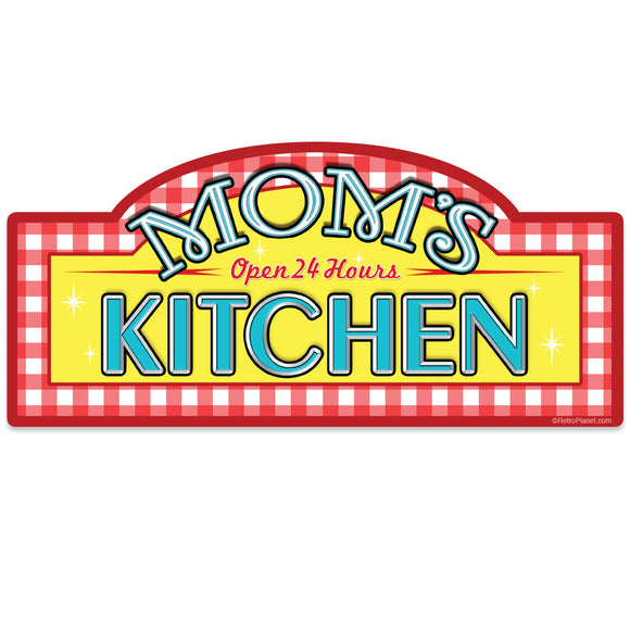 Moms Kitchen Mini Vinyl Sticker 20 ct