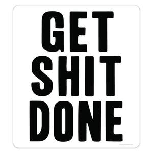Get Shit Done Mini Vinyl Sticker 20 ct