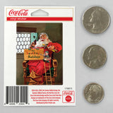 Coca-Cola Santa Sparkling Holidays Mini Vinyl Stickers 20 ct