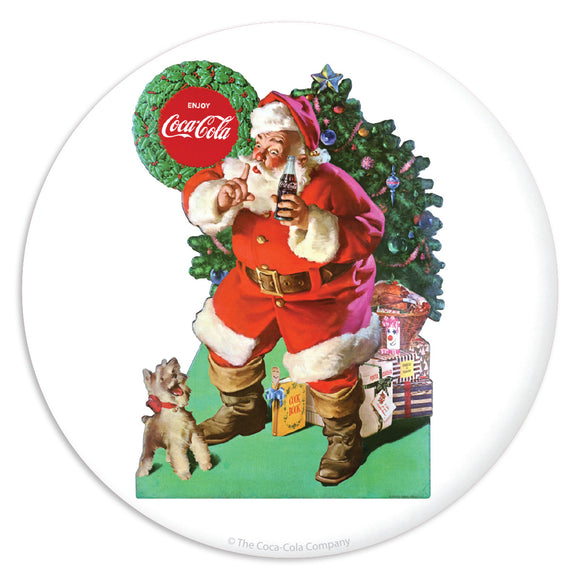 Coca-Cola Santa Friends Drop In Mini Vinyl Stickers 20 ct