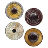 Audio Dials Vinyl Sticker Set of 4