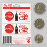 Coca-Cola TGBWC Mini Vinyl Stickers Set of 2 20 ct