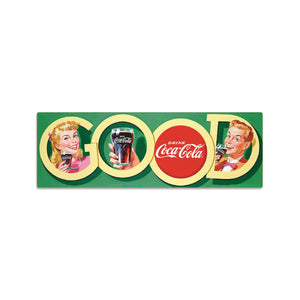 Coca-Cola Good Soda Fountain Mini Vinyl Stickers Set of 2 20 ct