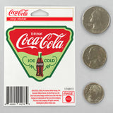 Coca-Cola Triangle Ice Cold Mini Vinyl Sticker 20 ct
