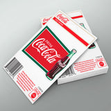 Coca-Cola Drink Logo With Bottle Mini Vinyl Sticker 20 ct