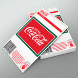 Drink Coca-Cola Logo Mini Vinyl Sticker 20 ct