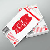 Coca-Cola Fishtail Refreshing Mini Vinyl Sticker 20 ct