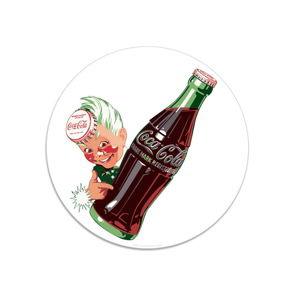 Coca-Cola Sprite Boy with Bottle Mini Vinyl Sticker 20 ct