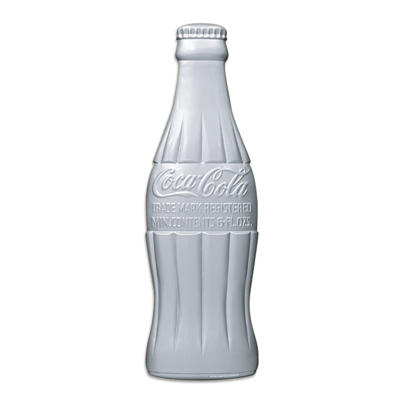 Coca-Cola Silver Bottle Style Mini Sticker 20 ct