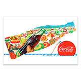 Coca-Cola at the Beach Mini Poster