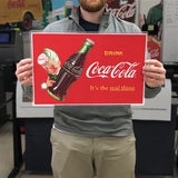 Drink Coca-Cola Sprite Boy Real Thing Mini Poster