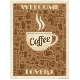 Welcome Coffee Lovers Decal