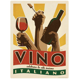 Vino Italiano Italian Wine Decal