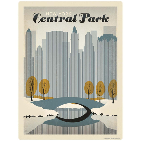 New York City Central Park Decal