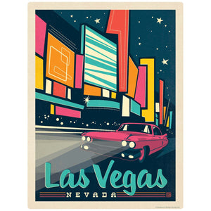 Las Vegas Strip Nevada Decal