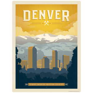Denver Colorado Mile High City Decal