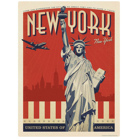 New York City Statue of Liberty Decal