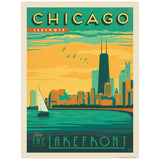 Chicago Illinois Lakefront Decal