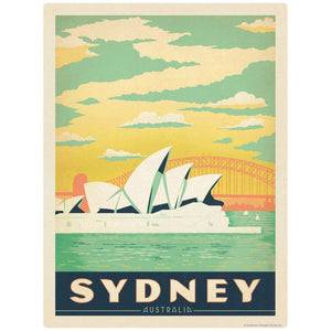 Sydney Australia Opera House Decal