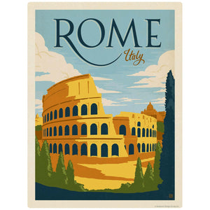 Rome Italy Colosseum Decal