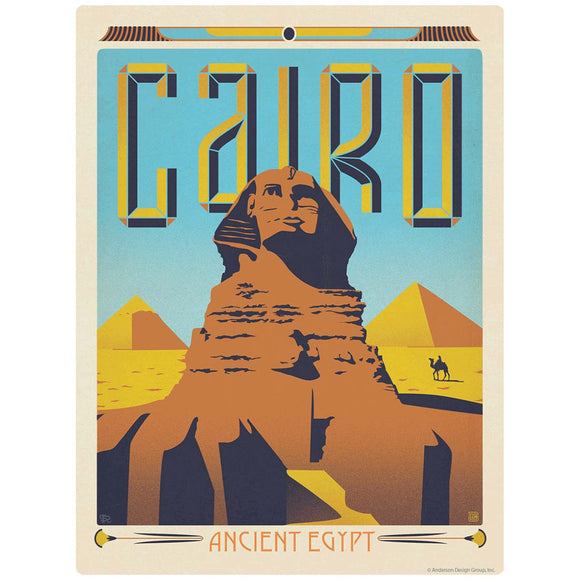 Cairo Ancient Egypt Sphinx Decal