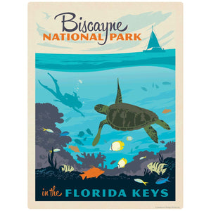 Biscayne National Park Florida Keys Decal