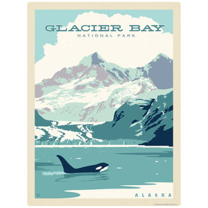 Glacier Bay National Park Alaska Decal