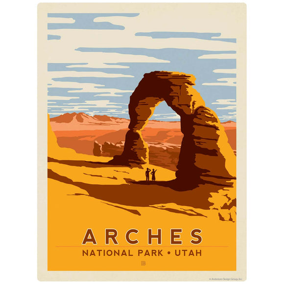 Arches National Park Utah Decal