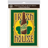 Irish House Ale Beer Pub Decal