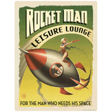 Rocket Man Leisure Lounge Decal
