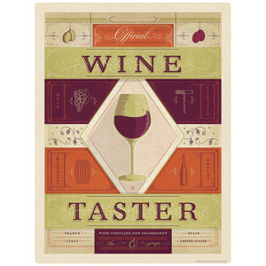Official Wine Taster Decal