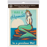 Mermaid in a Previous Life Decal