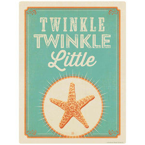 Twinkle Little Starfish Decal