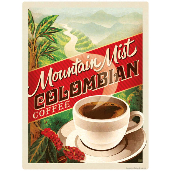 Colombian Coffee Mountain Mist Decal