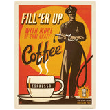 Coffee Fill Er Up Espresso Decal