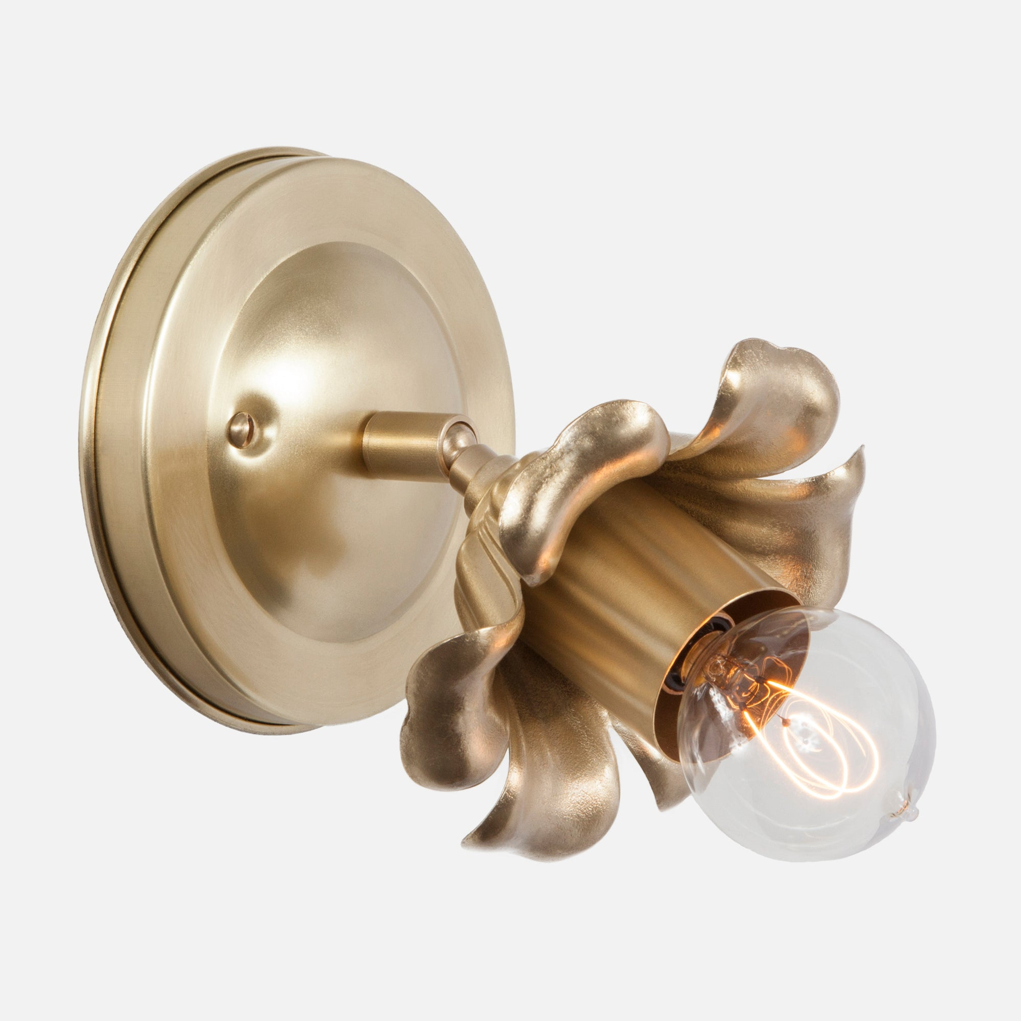 Bloom Flush Mount Wall Sconce
