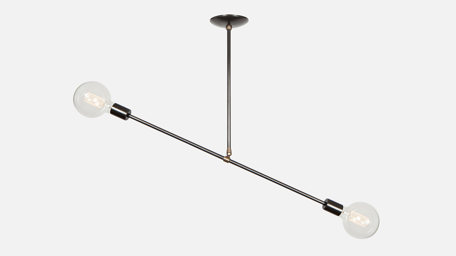 Balance Bare Bulb Pendant Light