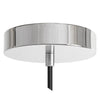 Polished Nickel Ceiling Canopy Kit for Pendant Light, Strain Relief - Detail