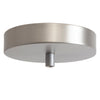 Satin Nickel Ceiling Canopy Kit for Pendant Light, Strain Relief