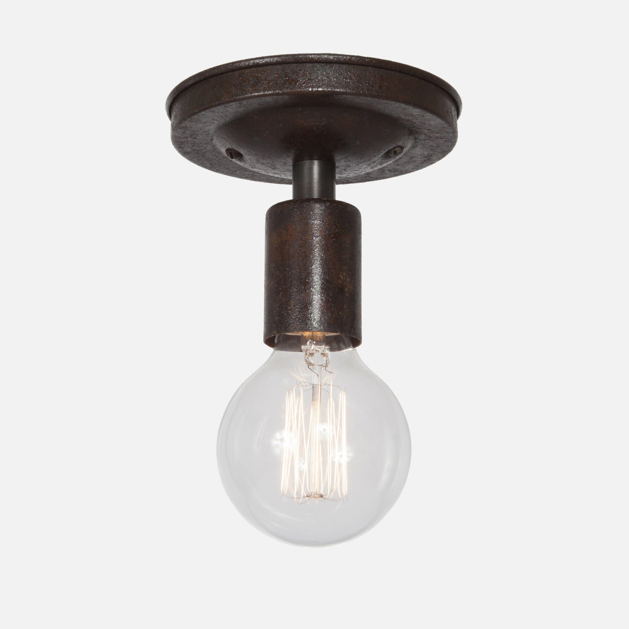Bare Bulb Ceiling Light