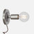 Bare Bulb Wall Sconce - Plug-In