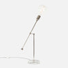 Counterbalance Bare Bulb Table Lamp - Polished Nickel - Back Detail