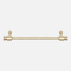 "Brancusi Drawer Pull Raw Brass 8"", 9"", 10"""