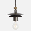 Brancusi Double Dome Pendant Light - View 2