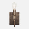 Bespoke Mini Wall Sconce - View 1 - Vintage Brass Patina