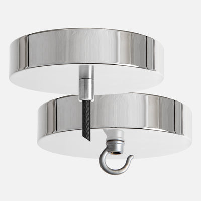 Polished Nickel Ceiling Canopy Kit for Pendant Light or Chandelier