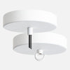 White Ceiling Canopy Kit for Pendant Light or Chandelier